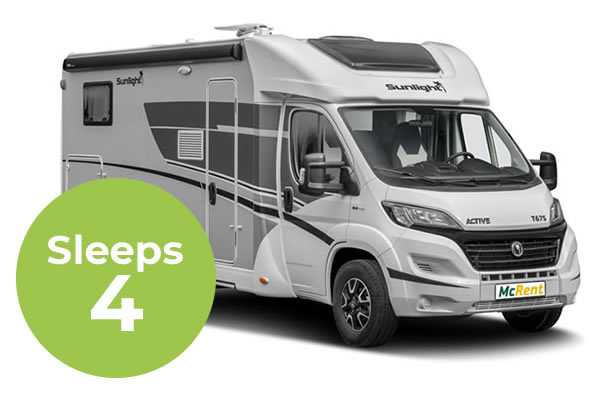 Family Standard 4 Sleeper Campervan